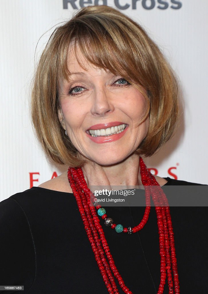 Actress Susan Blakely attends the 7th Annual American Red Cross Red Tie Affair at the Fairmont Miramar Hotel on April 6, 2013 in Santa Monica, California.