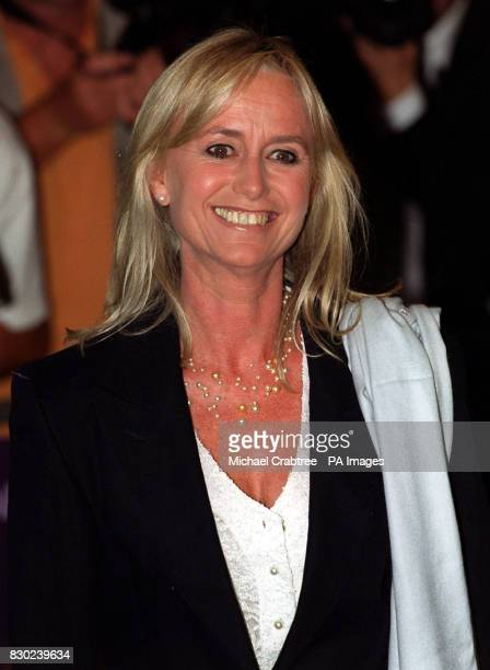 Actress Susan George arrives for the UK premiere of the film 'Eyes Wide Shut' starring Nicole Kidman and Tom Cruise and directed by the late Stanley...