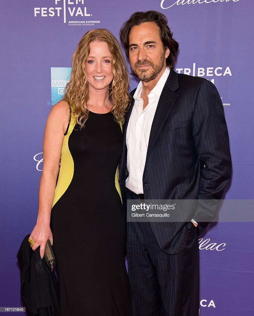 Actress Susan Haskell and actor Thorsten Kaye attend the screening of 'I Got Somethin' to Tell You' during the 2013 Tribeca Film Festival at SVA...