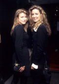 Actress Susan Haskell and sister Carolyn attend the Screening of the Showtime Television Series 'Picture Windows' on September 27 1995 at the...