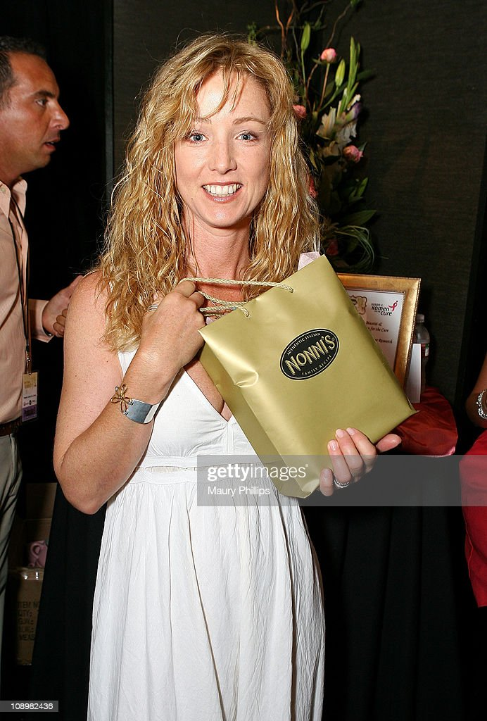 Actress <a gi-track='captionPersonalityLinkClicked' href=/galleries/search?phrase=Susan+Haskell&family=editorial&specificpeople=5040821 ng-click='$event.stopPropagation()'>Susan Haskell</a> poses in the Daytime Emmy official gift lounge produced by On 3 Productions held at the Kodak Theatre on June 19, 2008 in Hollywood, California.