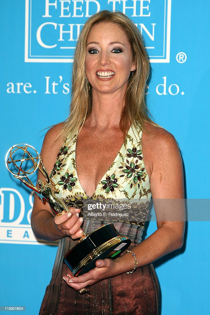 Actress Susan Haskell poses in the press room during the 36th Annual Daytime Emmy Awards at The Orpheum Theatre on August 30 2009 in Los Angeles...