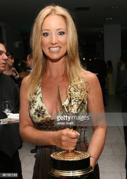 Actress Susan Haskell winner of Emmy for Lead Actress in a Drama Series attends the 36th Annual Daytime Emmy Awards after party on August 30 2009 in...