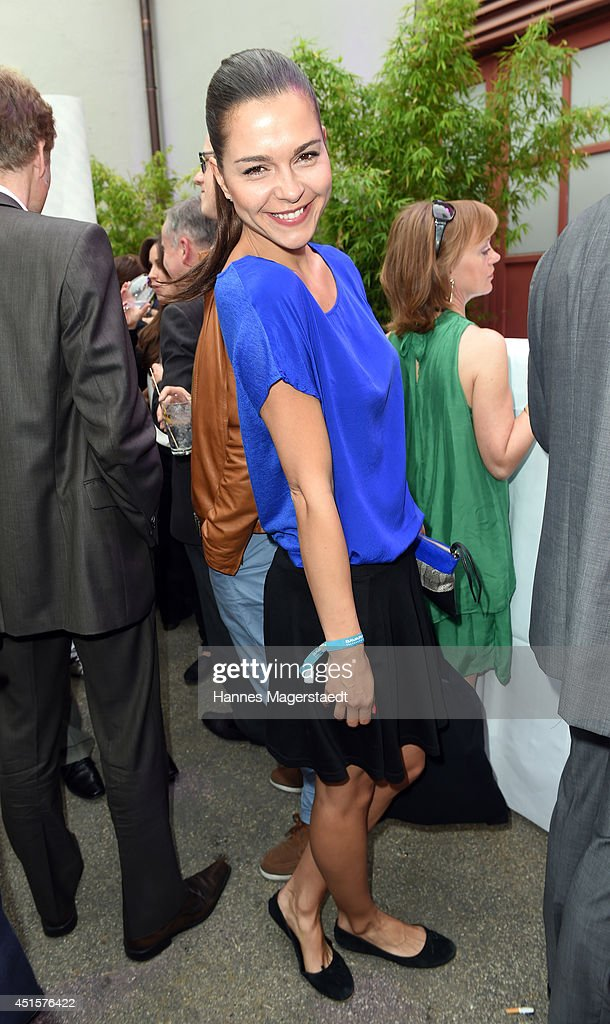 Actress Susan Hoecke attends the Bavaria Reception during the Munich Film Festival 2014 on July 1, 2014 in Munich, Germany.