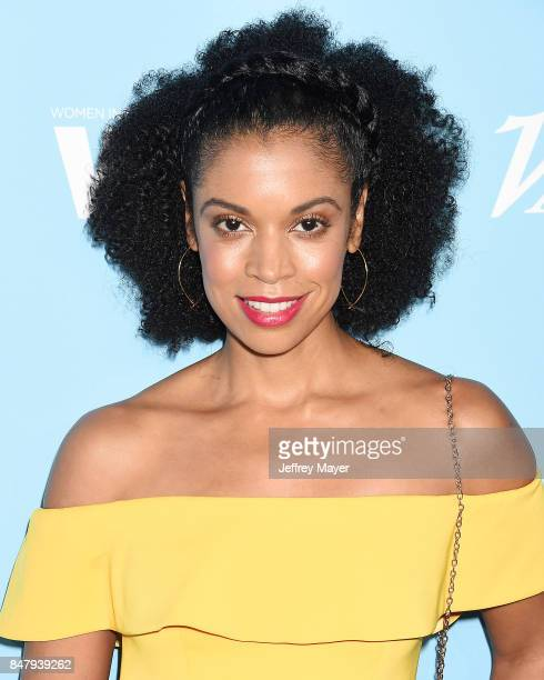 Actress Susan Kelechi Watson arrives at the Variety And Women In Film's 2017 PreEmmy Celebration at Gracias Madre on September 15 2017 in West...