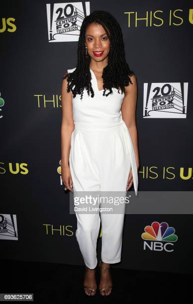 Actress Susan Kelechi Watson attends 20th Century Fox Television NBC's 'This Is Us' FYC screening and panel at The Cinerama Dome on June 7 2017 in...