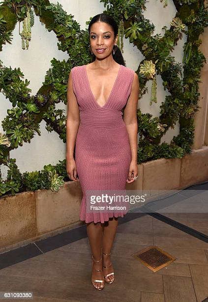 Actress Susan Kelechi Watson attends the 17th annual AFI Awards at Four Seasons Los Angeles at Beverly Hills on January 6 2017 in Los Angeles...