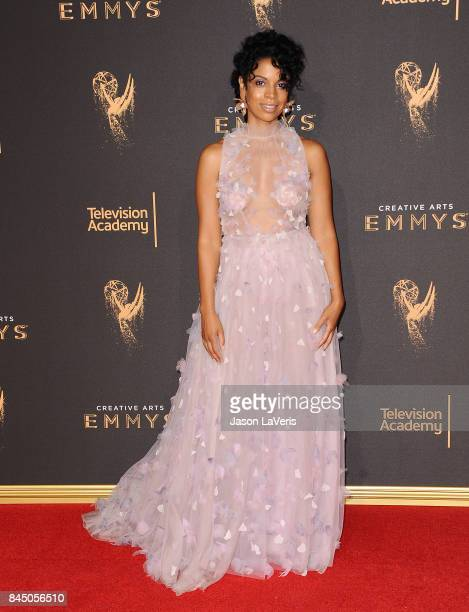 Actress Susan Kelechi Watson attends the 2017 Creative Arts Emmy Awards at Microsoft Theater on September 9 2017 in Los Angeles California