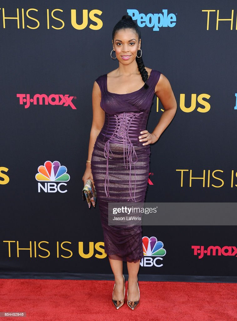 Actress Susan Kelechi Watson attends the season 2 premiere of 'This Is Us' at NeueHouse Hollywood on September 26, 2017 in Los Angeles, California.