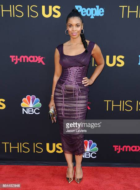 Actress Susan Kelechi Watson attends the season 2 premiere of 'This Is Us' at NeueHouse Hollywood on September 26 2017 in Los Angeles California
