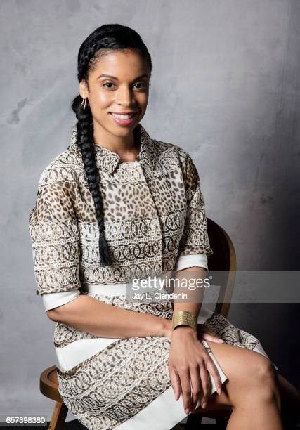Actress Susan Kelechi Watson from NBC's 'This is Us' is photographed at Paley Fest for Los Angeles Times on March 18 2017 in Los Angeles California...