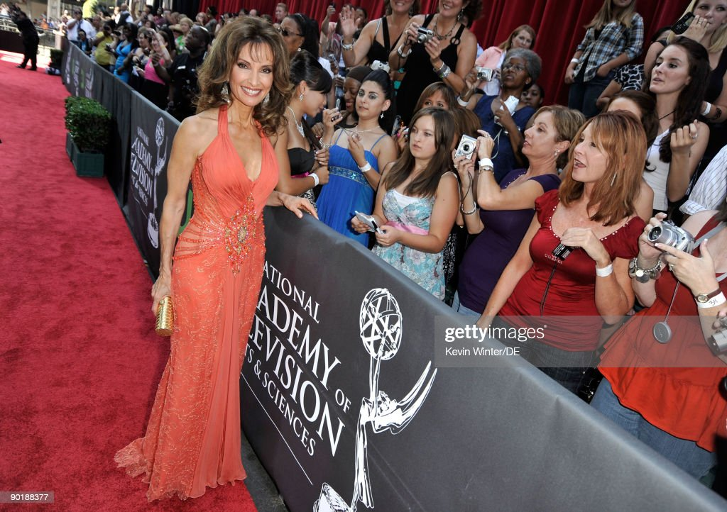 Actress Susan Lucci arrives at the 36th Annual Daytime Emmy Awards at The Orpheum Theatre on August 30, 2009 in Los Angeles, California.