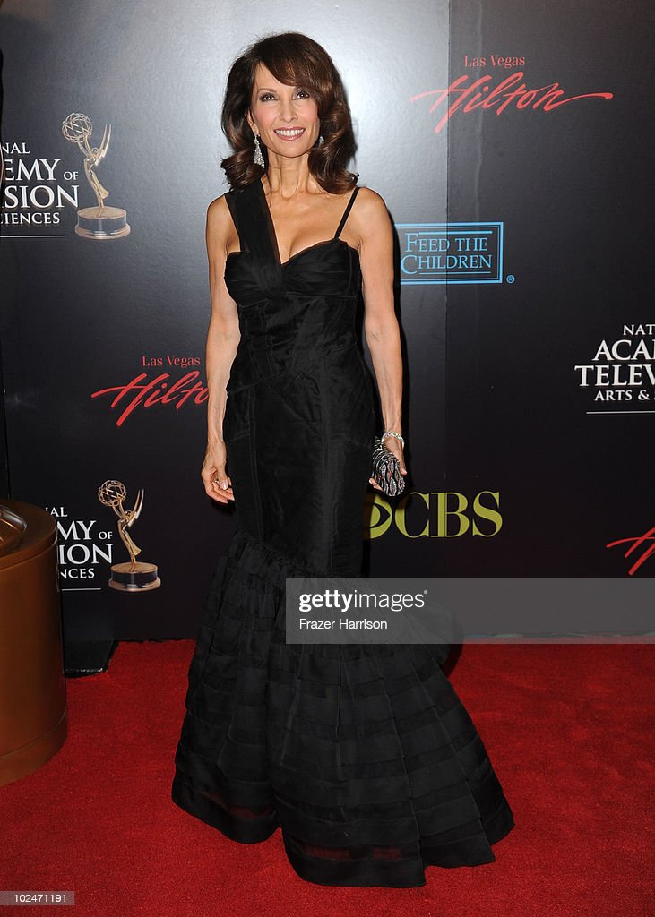 Actress <a gi-track='captionPersonalityLinkClicked' href=/galleries/search?phrase=Susan+Lucci&family=editorial&specificpeople=203010 ng-click='$event.stopPropagation()'>Susan Lucci</a> arrives at the 37th Annual Daytime Entertainment Emmy Awards held at the Las Vegas Hilton on June 27, 2010 in Las Vegas, Nevada.