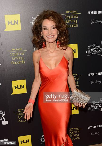 Actress Susan Lucci arrives at The 39th Annual Daytime Emmy Awards broadcasted on HLN held at The Beverly Hilton Hotel on June 23 2012 in Beverly...