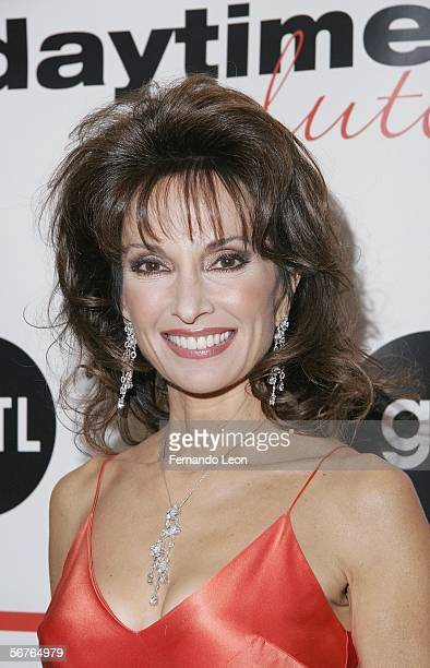 Actress Susan Lucci arrives to the after party for the ABC Daytime Salutes Broadway Cares/Equity Fights AIDS Benefit on February 6 2006 in New York...
