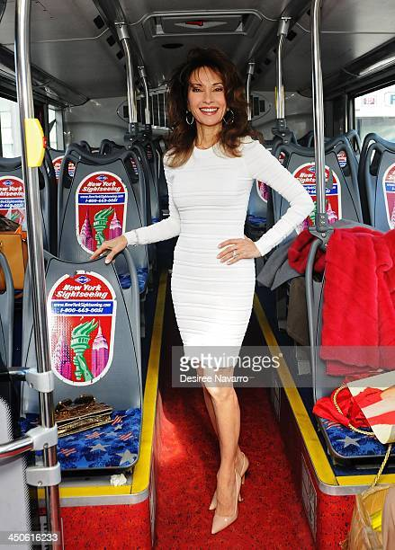 Actress Susan Lucci attends Gray Line New York's Ride Of Fame Honors Susan Lucci at Pier 78 on November 19 2013 in New York City