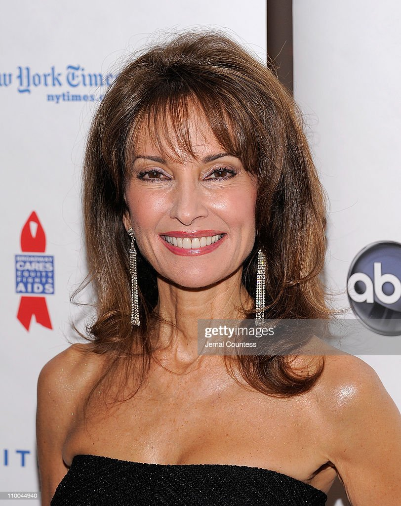 Actress Susan Lucci attends the 7th Annual ABC & SOAPnet Salute Broadway Cares/Equity Fights Aids Benefit closing celebration at The New York Marriott Marquis on March 13, 2011 in New York City.
