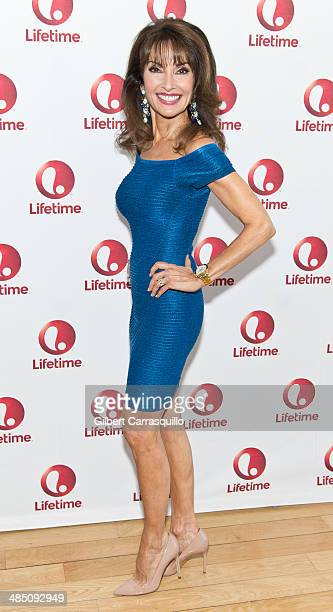Actress Susan Lucci attends the 'Devious Maids' Fan Event at the Bryant Park Hotel on April 16 2014 in New York City