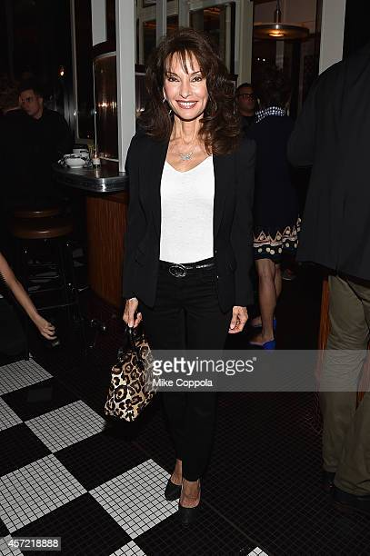Actress Susan Lucci attends the 'Fury' New York premiere at DGA Theater on October 14 2014 in New York City