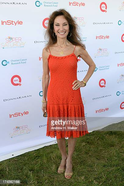 Actress Susan Lucci attends the Ovarian Cancer Research Fund's 16th Annual Super Saturday hosted by Kelly Ripa and Donna Karan at Nova's Ark Project...