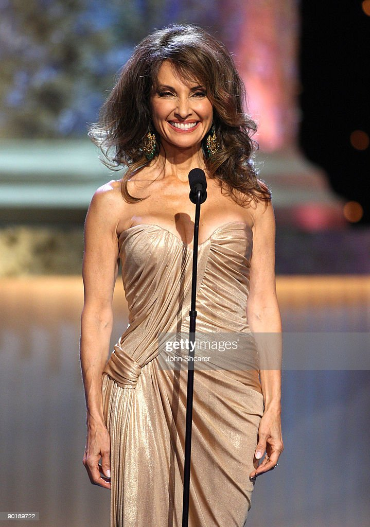 Actress Susan Lucci speaks onstage during the 36th Annual Daytime Emmy Awards at The Orpheum Theatre on August 30, 2009 in Los Angeles, California.