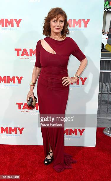 Actress Susan Sarandon arrives at the Premiere of Warner Bros Pictures' 'Tammy' at TCL Chinese Theatre on June 30 2014 in Hollywood California