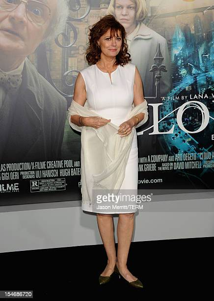 Actress Susan Sarandon arrives at Warner Bros Pictures' 'Cloud Atlas' premiere at Grauman's Chinese Theatre on October 24 2012 in Hollywood California