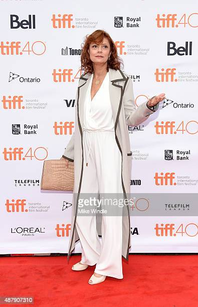 Actress Susan Sarandon at the premiere of ABOUT RAY in Toronto hosted Audi and Piper Heidsieck with Entertainment One and The Weinstein Company on...