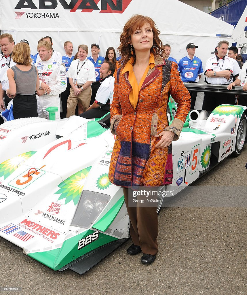 Speed Racer Cast at the 2008 Toyota Pro/Celebrity Race ...  Speed Racer Cas...