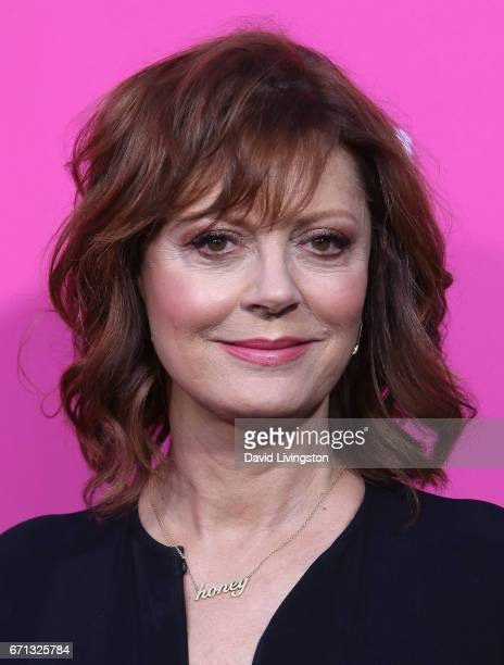 Actress Susan Sarandon attends FX's 'Feud Bette and Joan' FYC event at The Wilshire Ebell Theatre on April 21 2017 in Los Angeles California