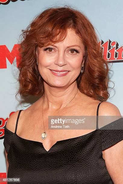 Actress Susan Sarandon attends 'Tammy' New York special screening at Landmark Sunshine Cinema on June 26 2014 in New York City