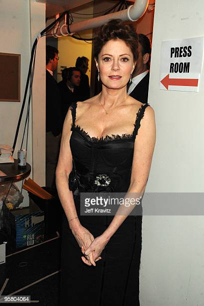 Actress Susan Sarandon attends the 15th Annual Critics' Choice Movie Awards held at the Hollywood Palladium on January 15 2010 in Hollywood California