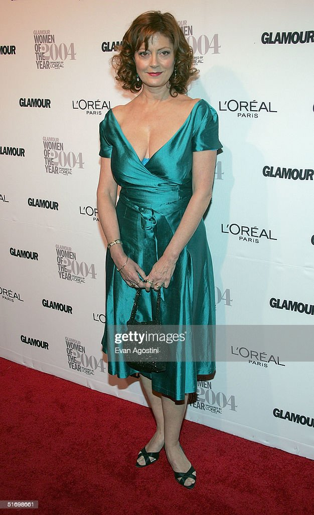 Actress Susan Sarandon attends the 15th Annual Glamour 'Women of the Year' Awards at the American Museum of Natural History November 8, 2004 in New York City.