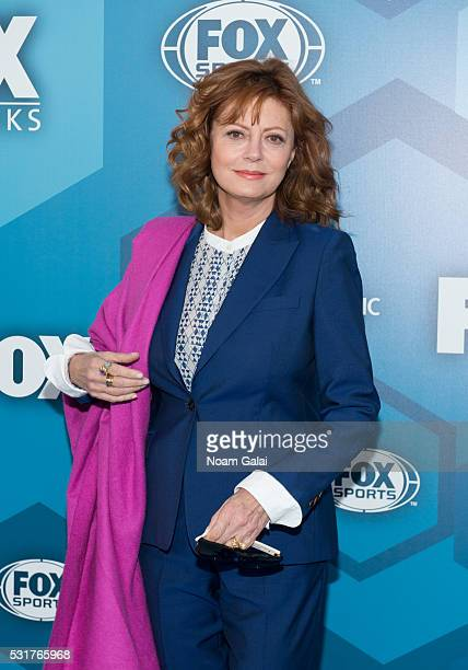 Actress Susan Sarandon attends the 2016 Fox Upfront at Wollman Rink Central Park on May 16 2016 in New York City