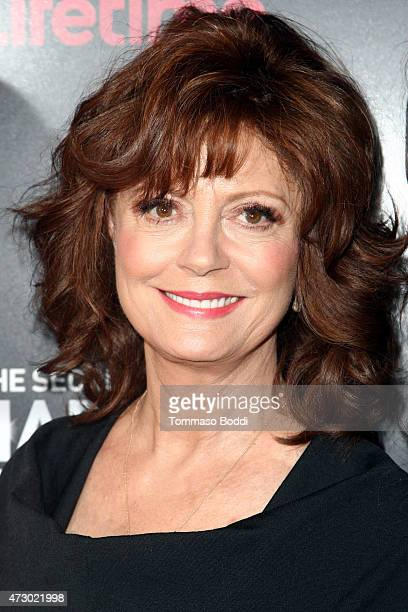 Actress Susan Sarandon attends the Lifetime's Miniseries 'The Secret Life Of Marilyn Monroe' special screening and panel held at The Theatre At The...