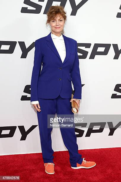 Actress Susan Sarandon attends the New York premiere 'Spy' at AMC Loews Lincoln Square on June 1 2015 in New York City