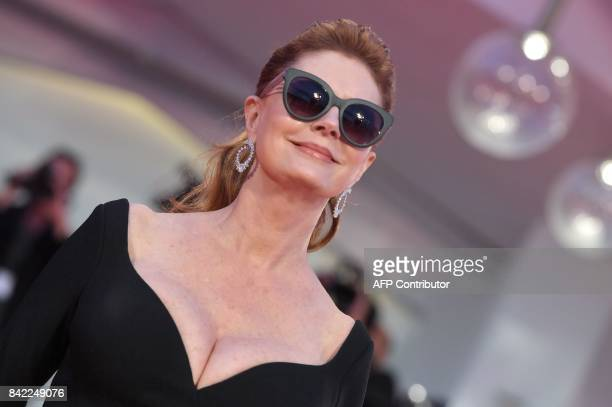 Actress Susan Sarandon attends the premiere of the movie 'The Private Life of a modern Woman' presented out of competition at the 74th Venice Film...