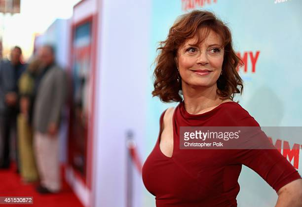 Actress Susan Sarandon attends the 'Tammy' Los Angeles premiere at TCL Chinese Theatre on June 30 2014 in Hollywood California