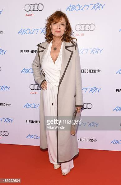 Actress Susan Sarandon attends the Toronto International Film Festival party for ABOUT RAY hosted by Entertainment One and The Weinstein Company at...