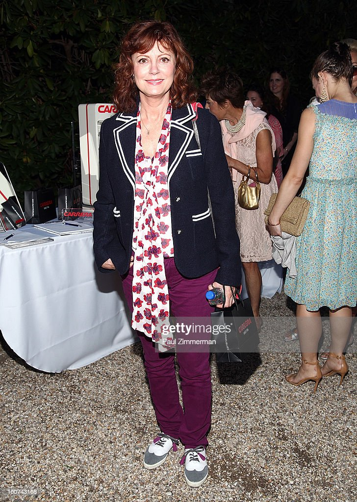Actress Susan Sarandon attends 'The Words' screening at Goose Creek on August 25, 2012 in East Hampton, New York.