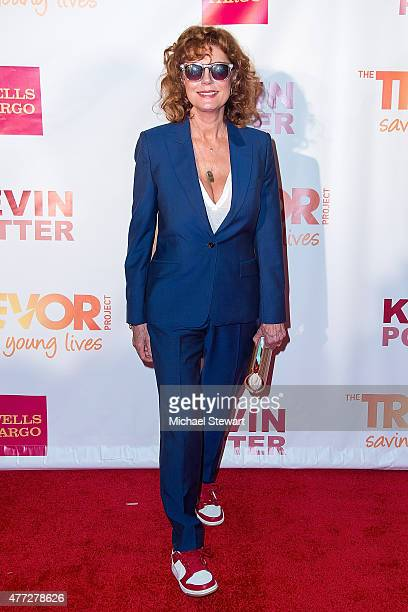 Actress Susan Sarandon attends TrevorLIVE New York 2015 at Marriott Marquis Hotel on June 15 2015 in New York City