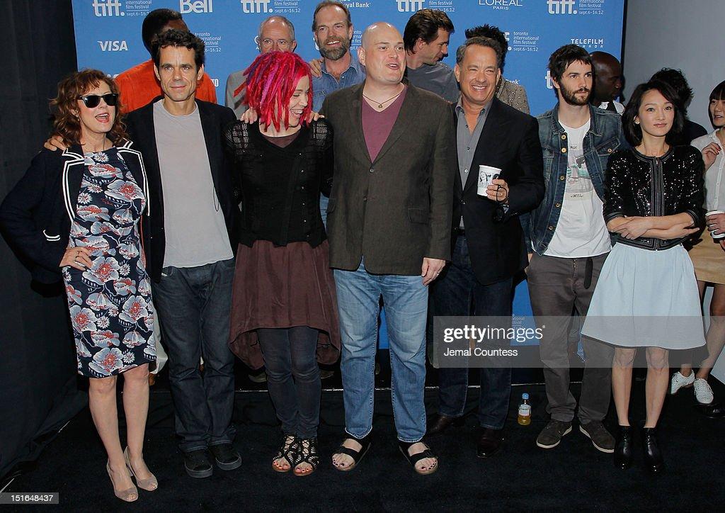 Actress Susan Sarandon director Tom Tykwer director Lana Wachowski director Andy Wachowski actor Tom Hanks actor Jim Sturgess and actress Zhou Xun...
