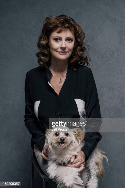 Actress Susan Sarandon is photographed at the Toronto Film Festival on September 7 2013 in Toronto Ontario