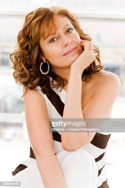 Actress Susan Sarandon is photographed Aventura Magazine on March 20 2008 in New York City