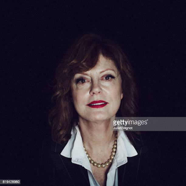 Actress Susan Sarandon is photographed for Grazia Magazine on May 15 2016 in Cannes France