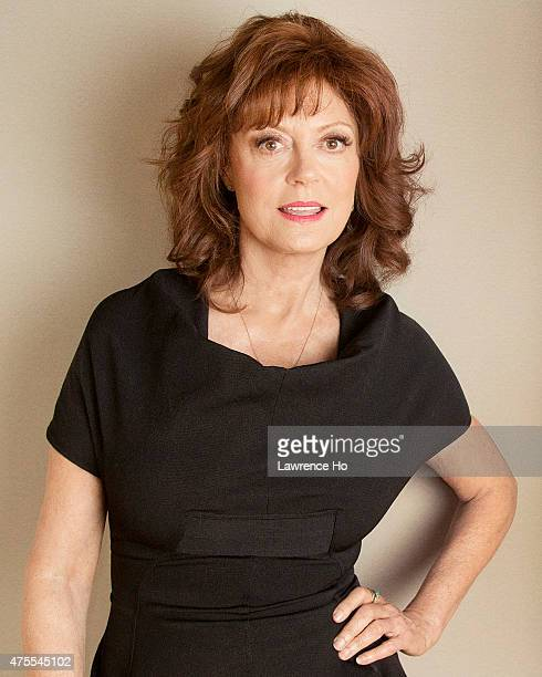 Actress Susan Sarandon is photographed for Los Angeles Times on May 11 2015 in Los Angeles California PUBLISHED IMAGE CREDIT MUST READ Lawrence...