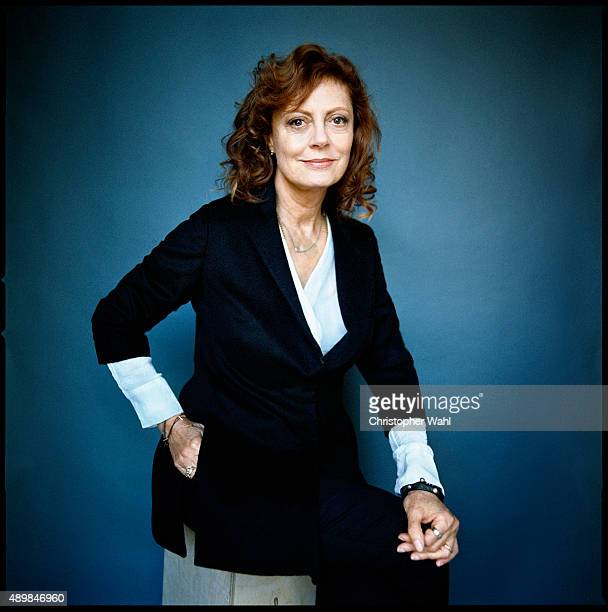 Actress Susan Sarandon is photographed for The Globe and Mail on September 15 2015 in Toronto Ontario