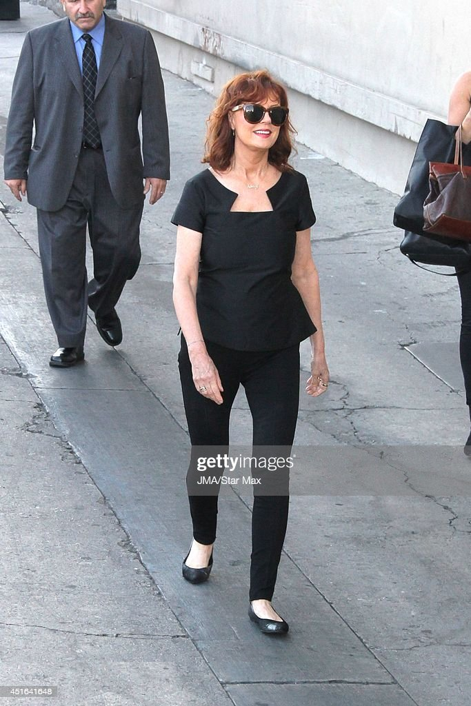 Actress <a gi-track='captionPersonalityLinkClicked' href=/galleries/search?phrase=Susan+Sarandon&family=editorial&specificpeople=202474 ng-click='$event.stopPropagation()'>Susan Sarandon</a> is seen on July 2, 2014 in Los Angeles, California.