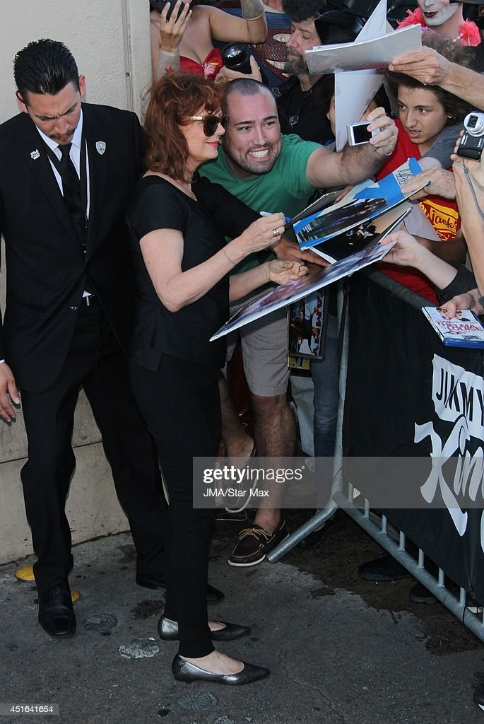 Actress Susan Sarandon is seen on July 2, 2014 in Los Angeles, California.