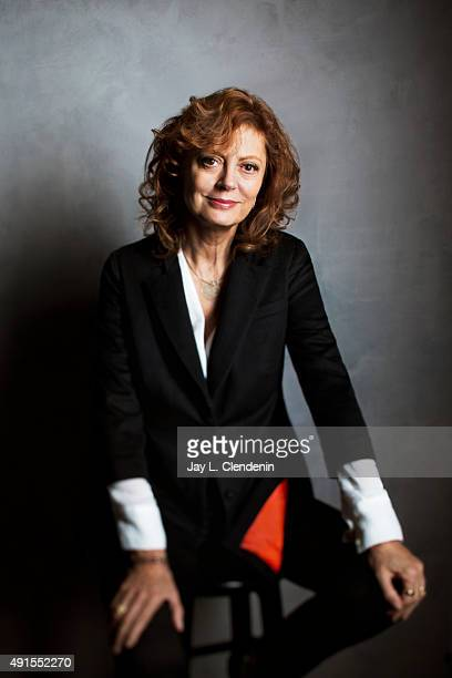 Actress Susan Sarandon of 'Meddler' is photographed for Los Angeles Times on September 25 2015 in Toronto Ontario PUBLISHED IMAGE CREDIT MUST READ...
